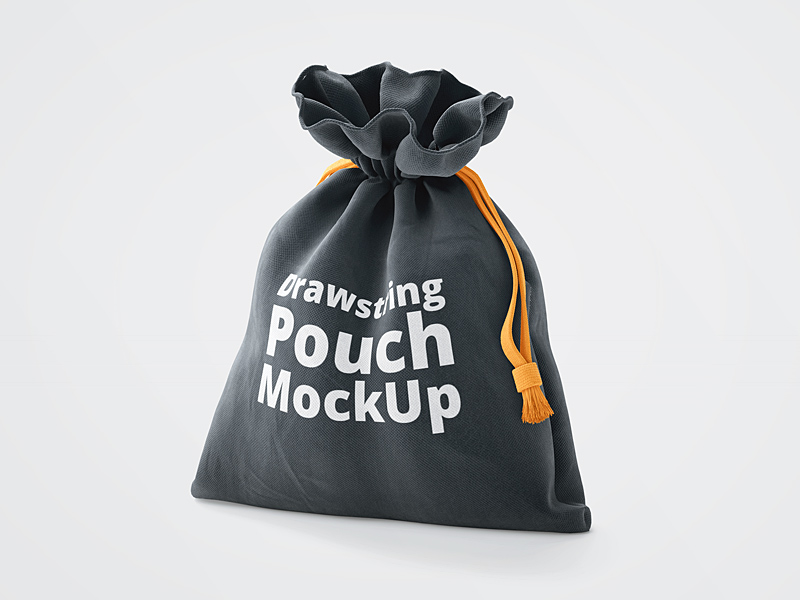 3D Drawstring Pouch Mockup | Free PSD Template | PSD Repo
