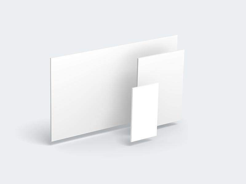 3D Website Showcase Mockup | Free PSD Template | PSD Repo