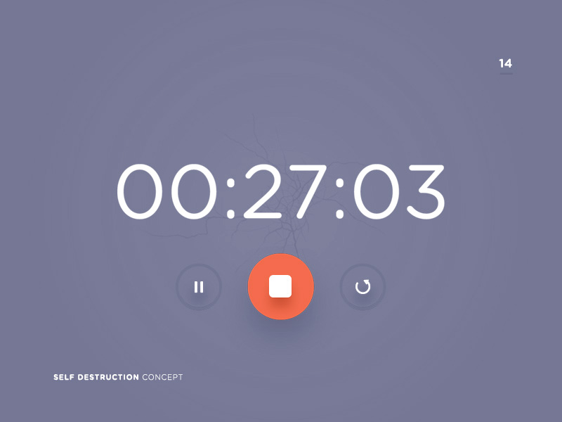 Countdown Timer | Free PSD Template | PSD Repo