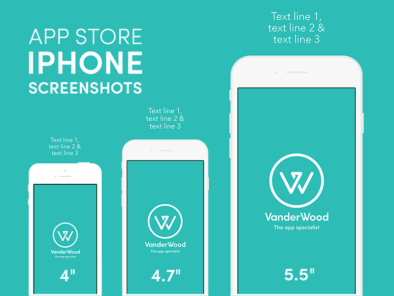 iPhone App Store Screenshot Mockup | Free PSD Template | PSD Repo