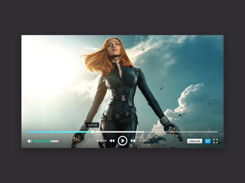Playeron Video Player Ui Free Psd Template Psd Repo