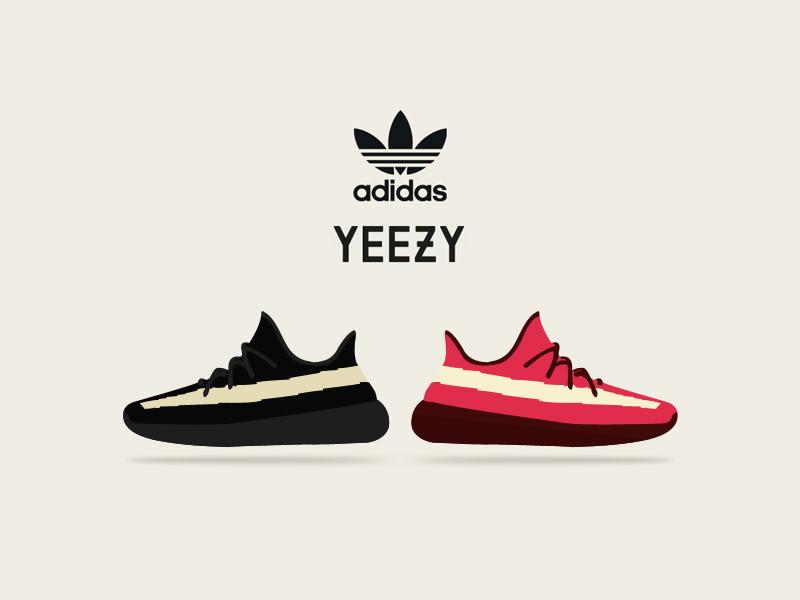 707d74a8e9f6a Adidas Yeezy 350 Vector