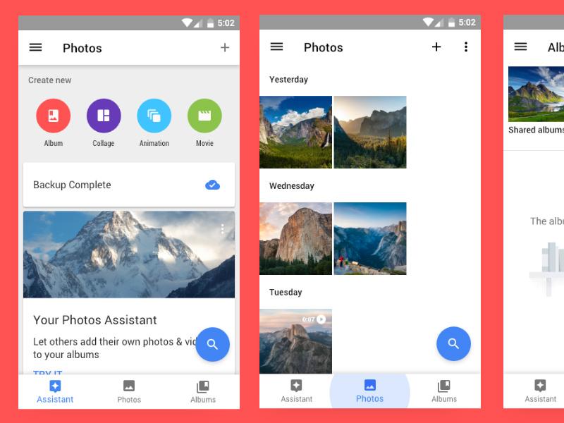 Adobe XD Android Bottom Nav | Free Xd Templates