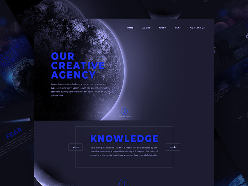 Creative Adobe Xd Agency Website Template