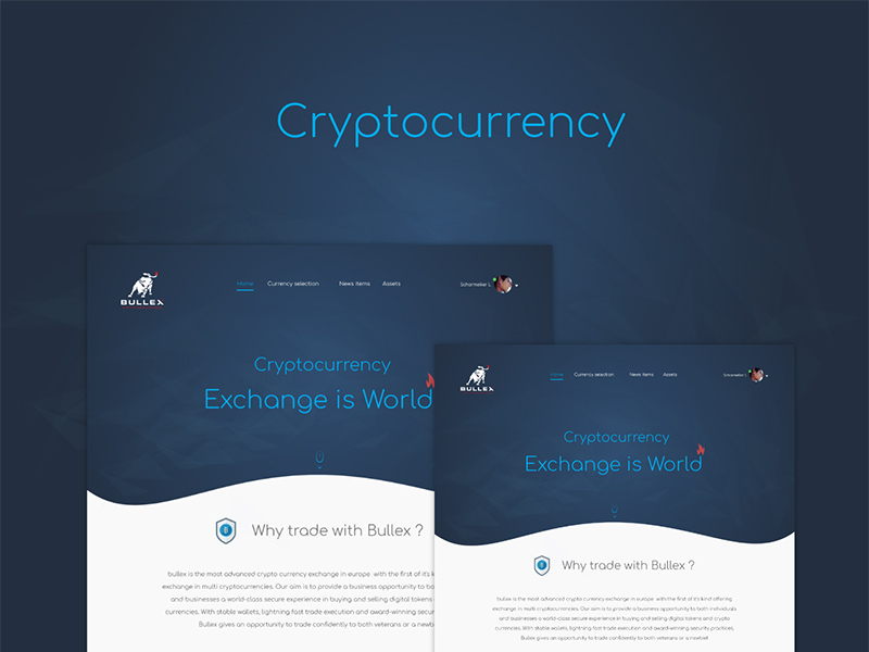 Adobe XD Cryptocurrency Template | Free Xd Templates