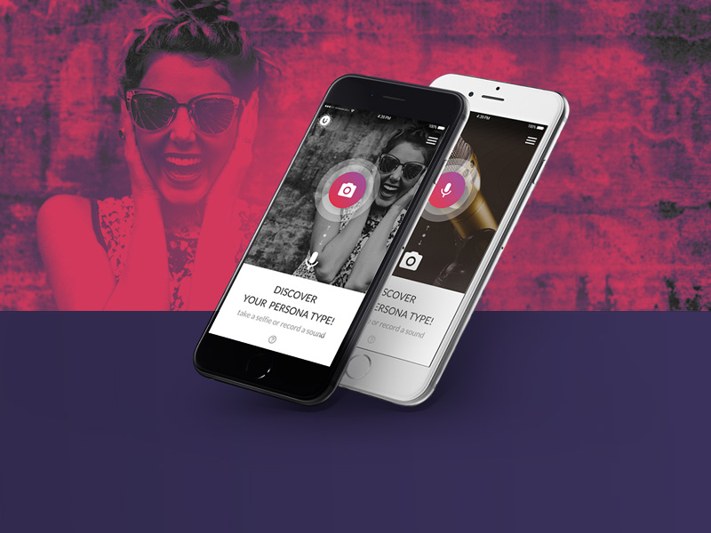 Face And Voice Recognition App | Free PSD Template | PSD Repo