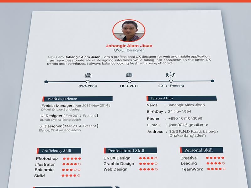 3 resume template