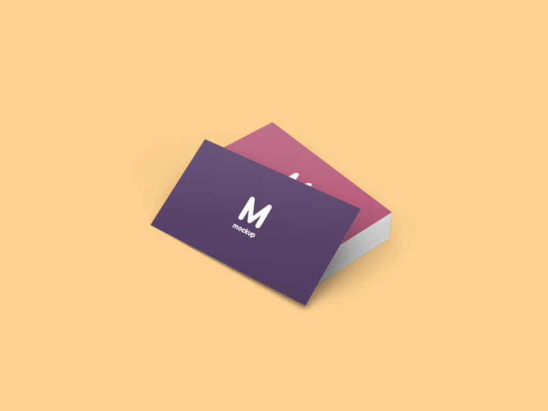 Business Cards Mockup Free Psd Template Psd Repo