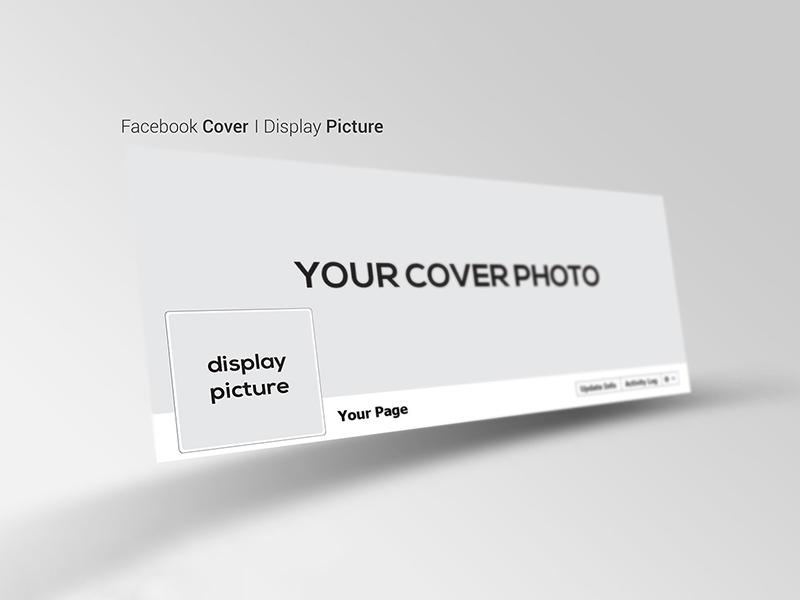 Facebook Cover Mockup Presentation | Free PSD Template | PSD