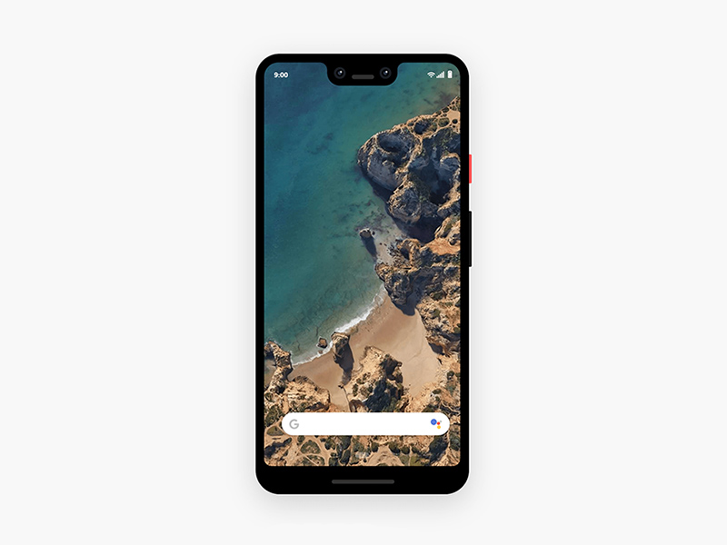Google Pixel 3XL Xd Mockup | Free Xd Templates