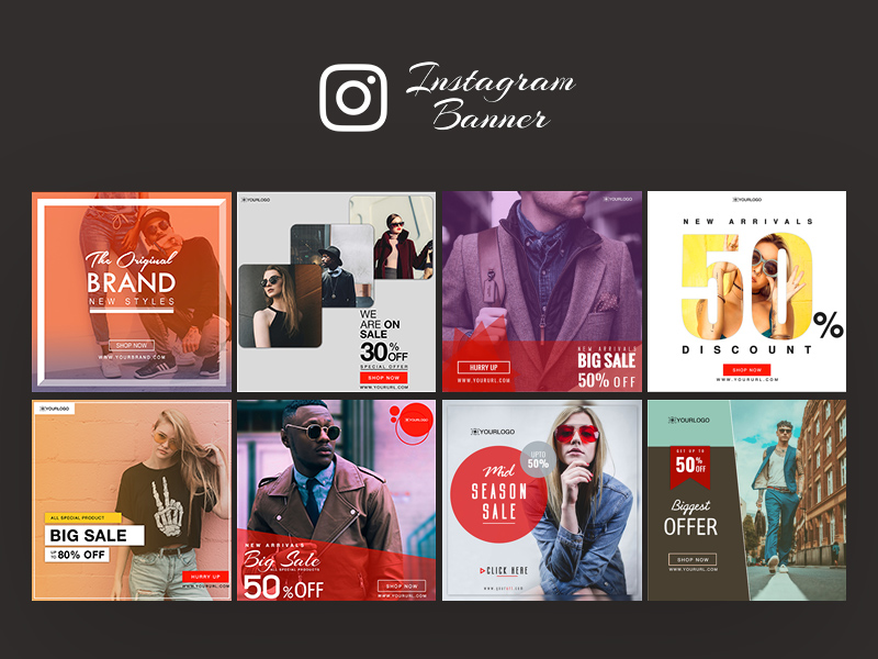 Instagram Ad Banner Templates