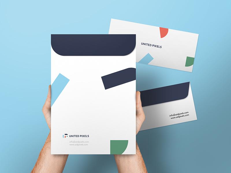 Envelope A4 Folder Mockup