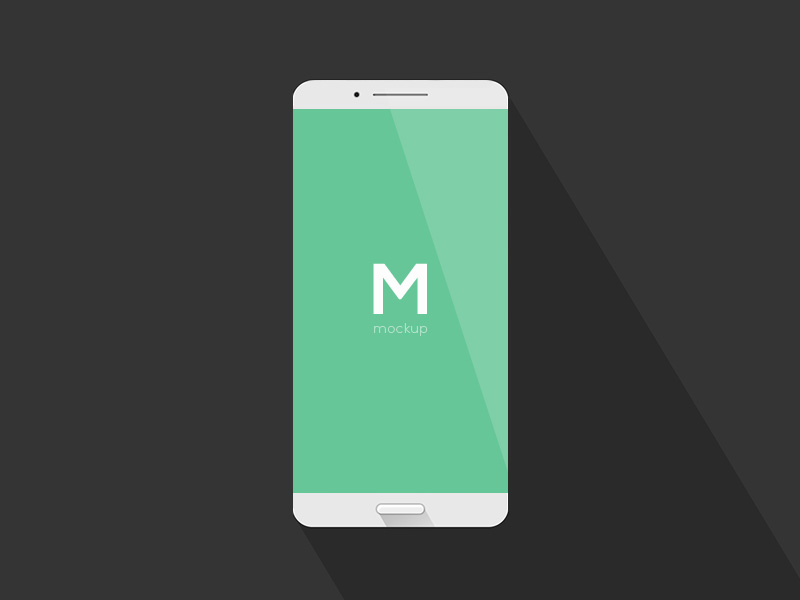 Simple Phone Mockup | Free PSD Template | PSD Repo