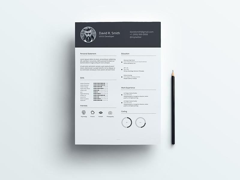 Free Resume Template CV