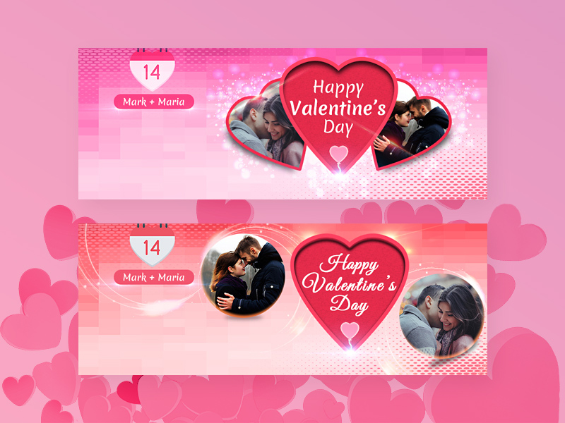 Free Valentine Facebook Covers Free Psd Template Psd Repo