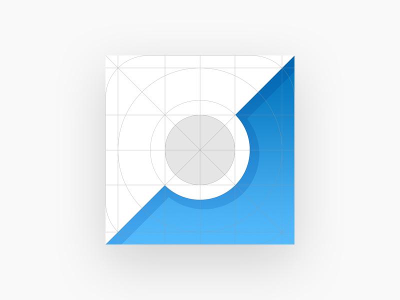 Ios10 App Icon Template Mockup Free Psd Template Psd Repo