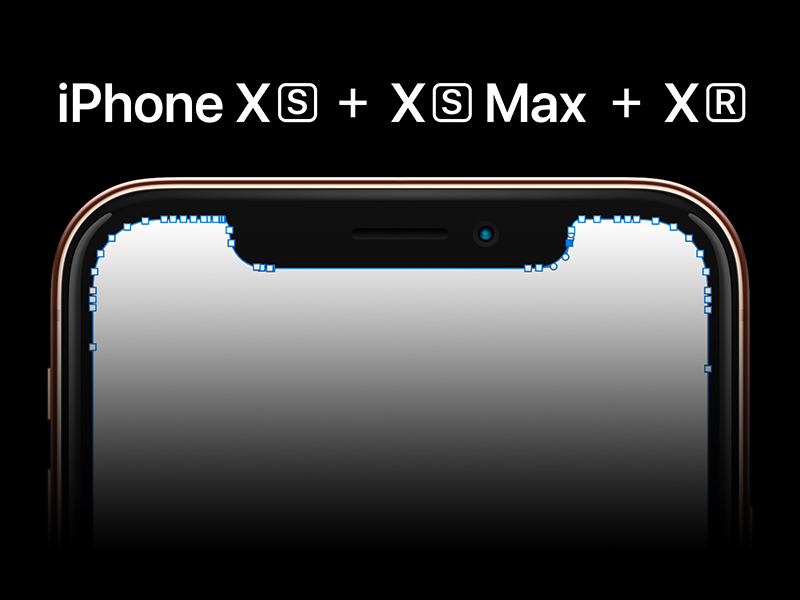 Iphone Xs Xs Max Xr Template Free Psd Template Psd Repo