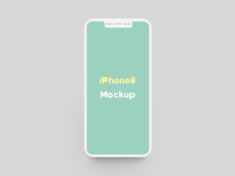Iphone 8 Mockup Free Psd Template Psd Repo