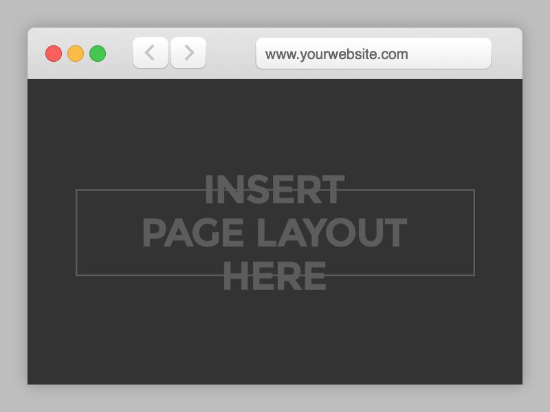 Safari Browser Mockup Template Free Psd Template Psd Repo