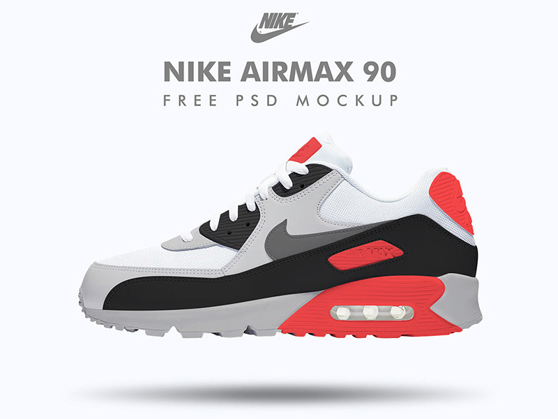 Nike Sneaker Product | Free PSD Template | PSD Repo