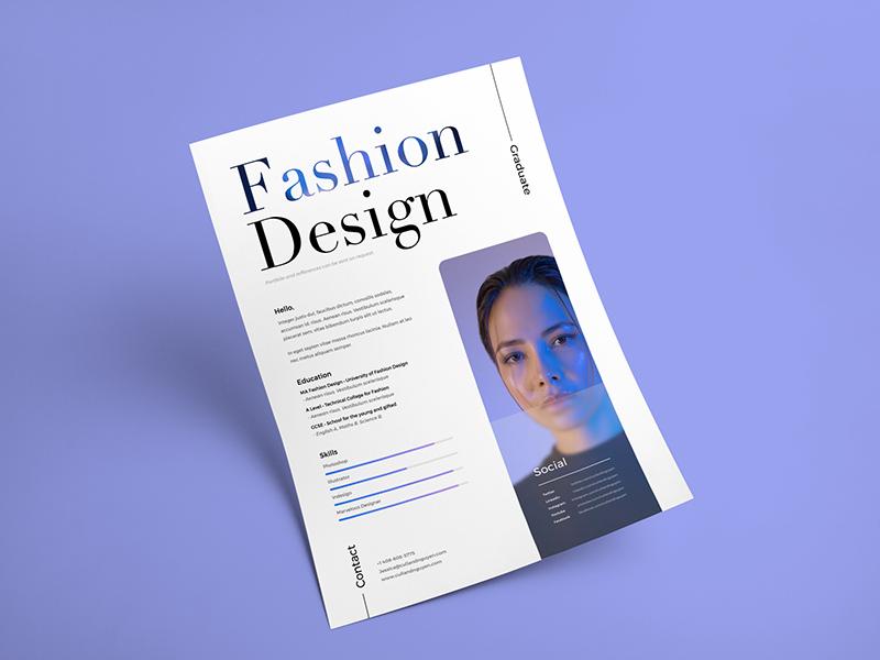 The Design Resume Cv Free Psd Template Psd Repo
