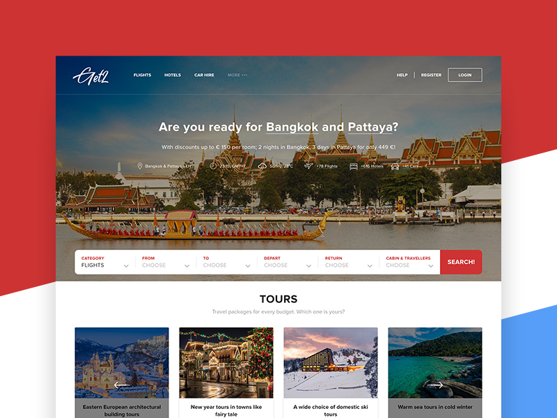 Travel Agency Website >> Travel Agency Website Template Free Psd Template Psd Repo