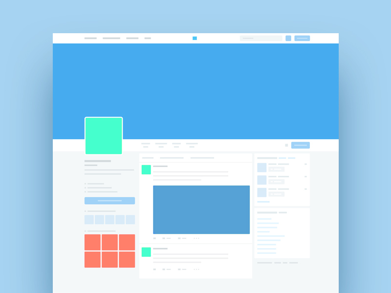 Twitter Template Mockup Free Psd Template Psd Repo