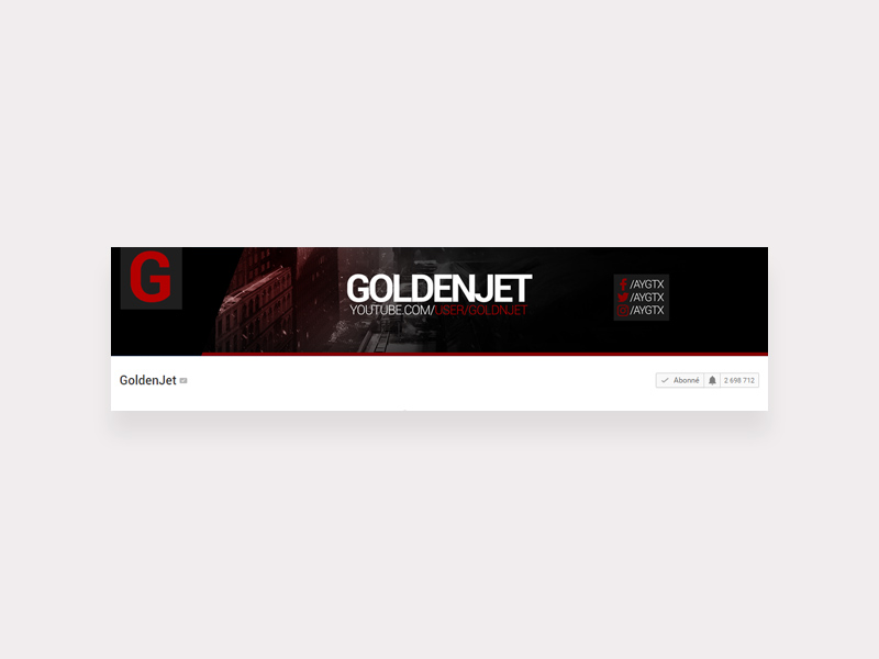 Youtube Banner Template Free Psd Template Psd Repo